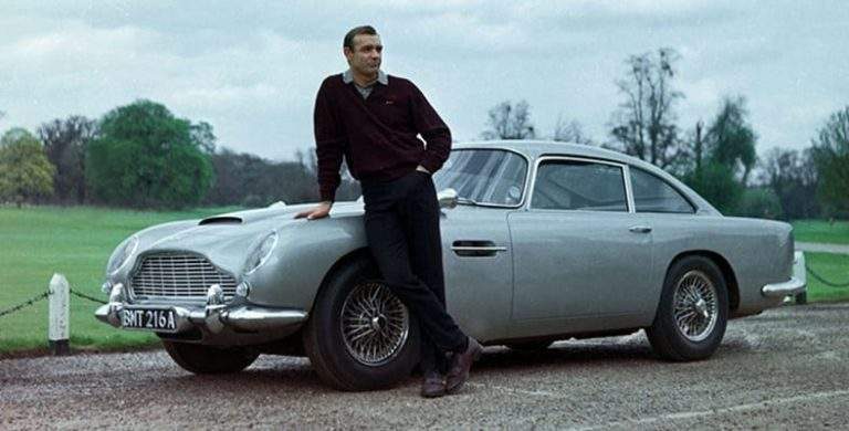 Get Your Digits on James Bond's Classic Ride from Goldfinger