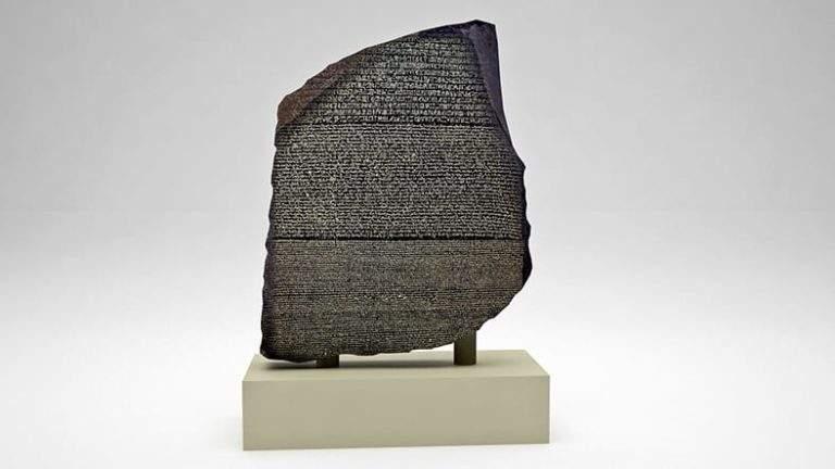 The History of Egyptian Hieroglyphs and the Rosetta Stone