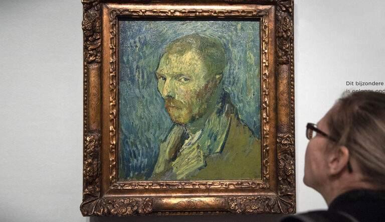 Van Gogh Self-portrait, real or fake