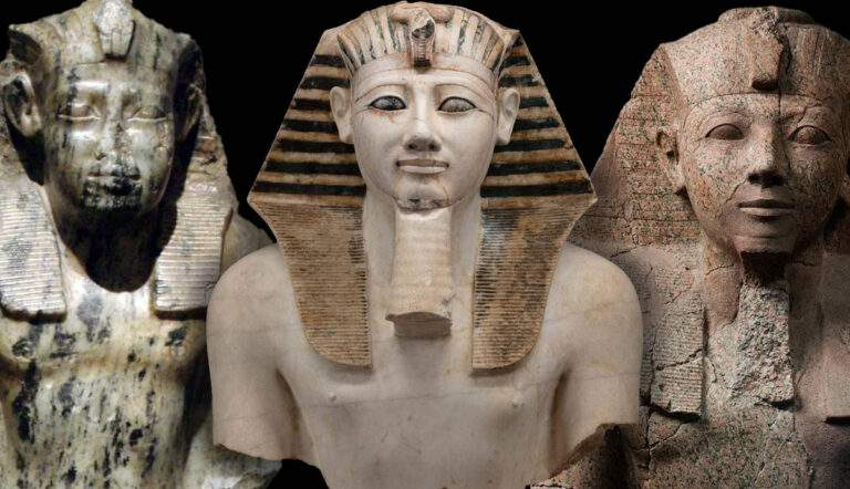 Egyptian Pharaohs, Thutmose III, Hatshepsut, and Senusret