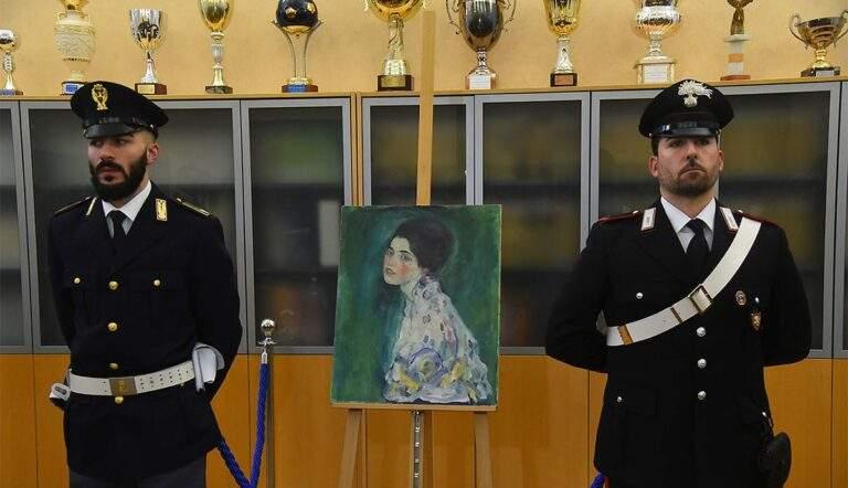 A Portrait of a Lady by Gustav Klimt was stolen from the Ricci Oddi Gallery of Modern Art