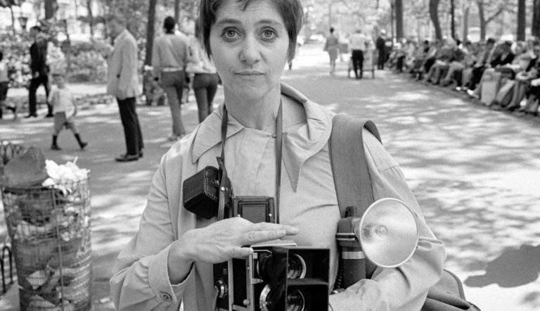 Photo of Diane Arbus, courtesy UCLA