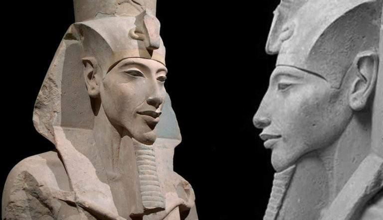 Statue of King Akhenaten