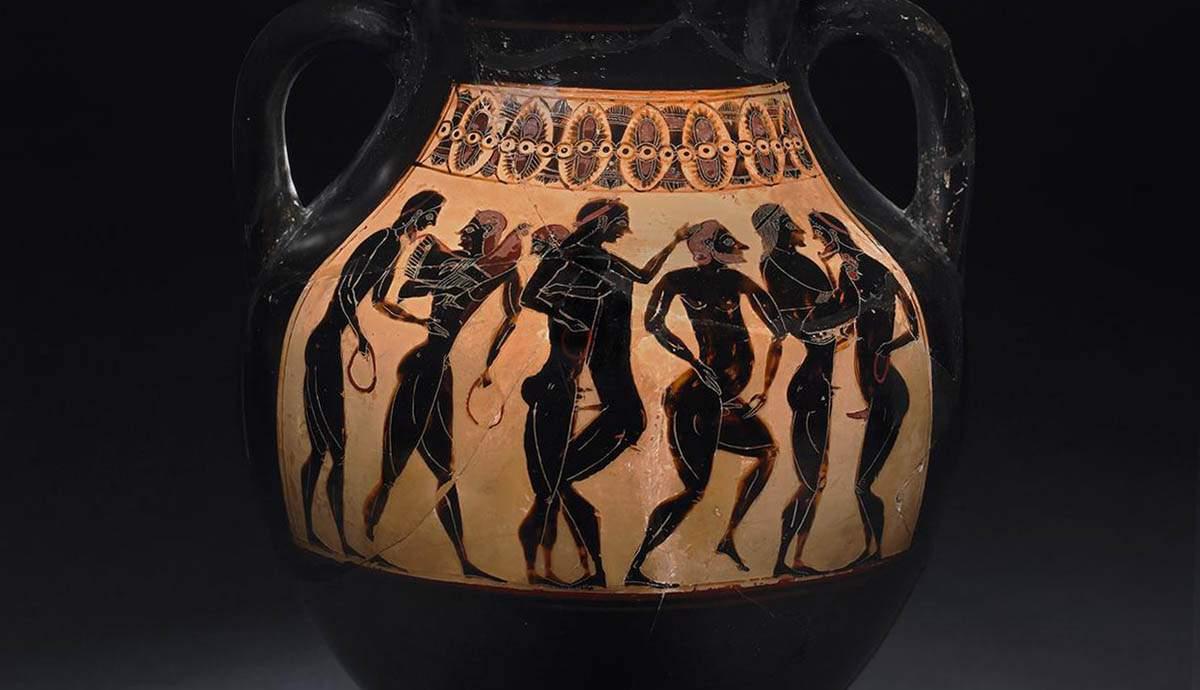 Greek Pottery Sex