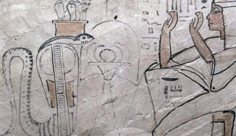 egyptian offering ostracon meretseger khnummose
