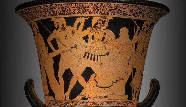 calyx krater fall of troy