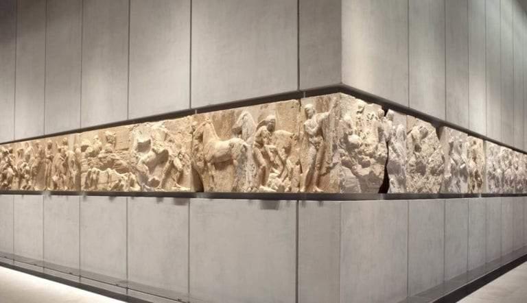 the parthenon frieze acropolis museum