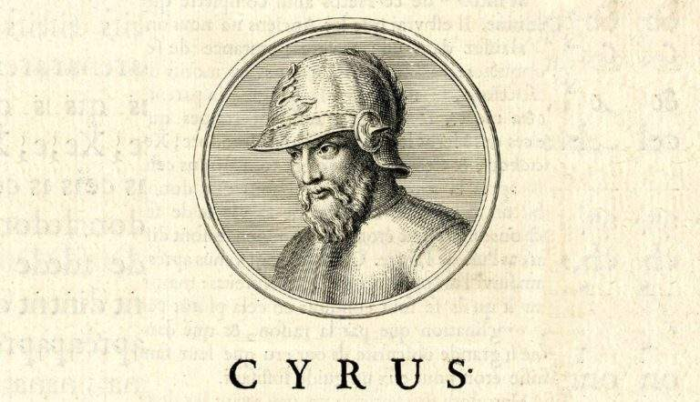 portrait of cyrus the great