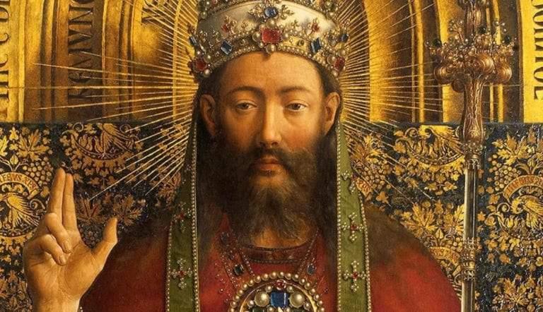 god enthroned jan van eyck ghent altarpiece