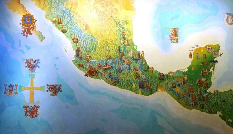 cultural map mesoamerica