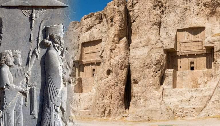 persian kings necropolis