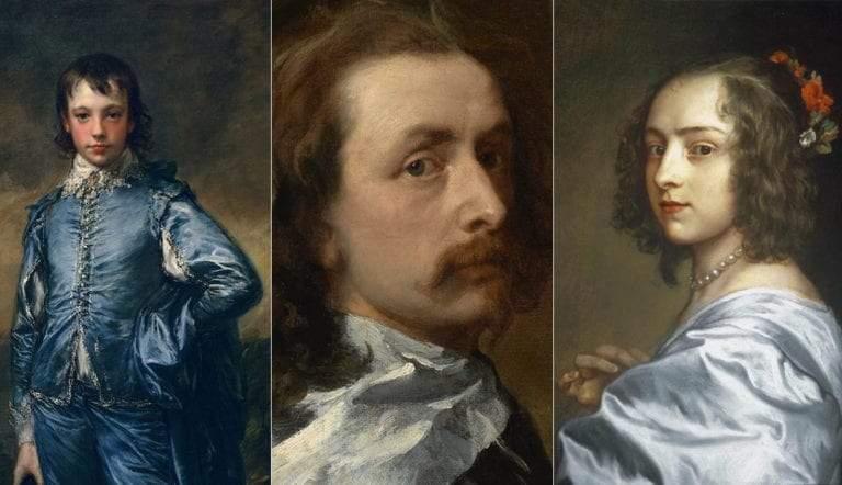 anthony van dyck portrait paintings