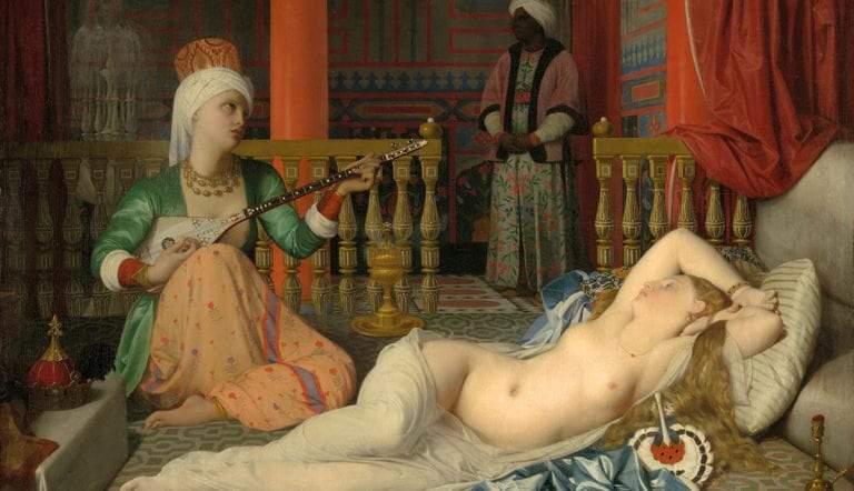 odalisque slave and eunuch