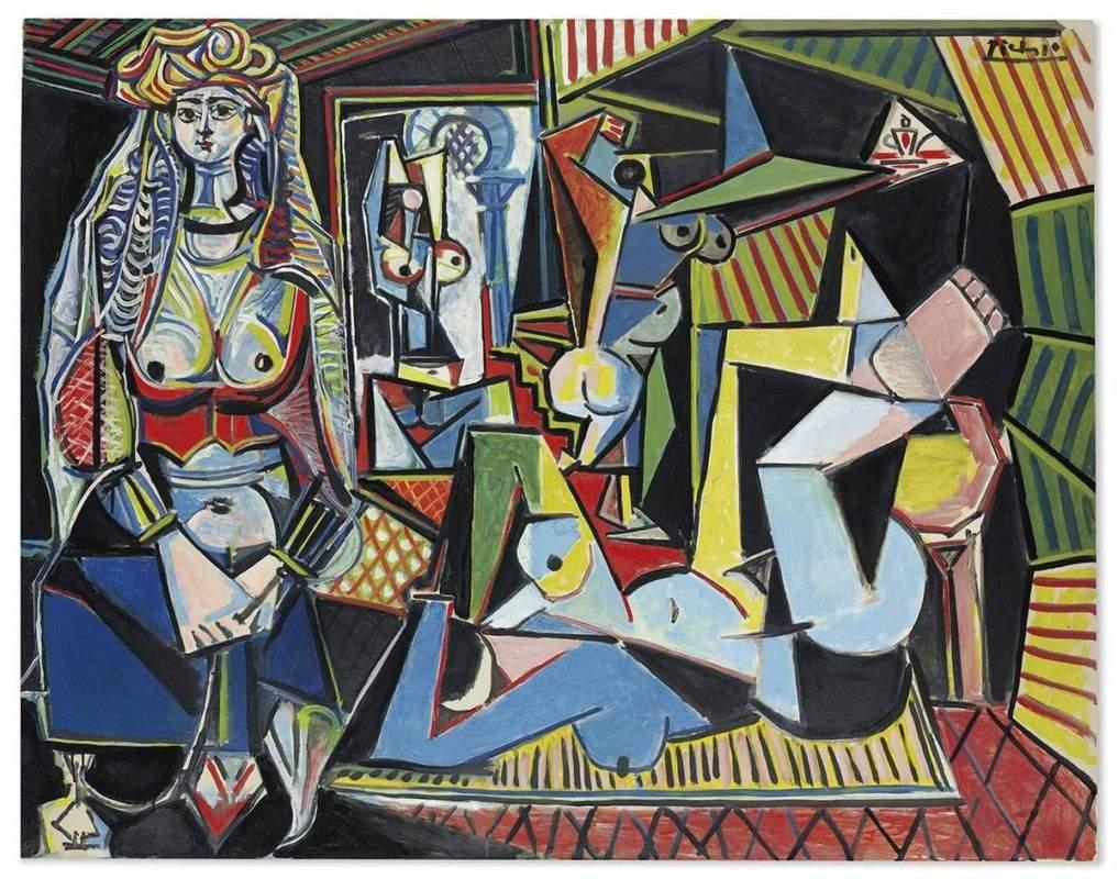 """Пабло Пикассо. Алжирские женщины, версия """"0"""", 1955. Продано на аукционе Christie's в 2015 г за USD 179,365,000"""