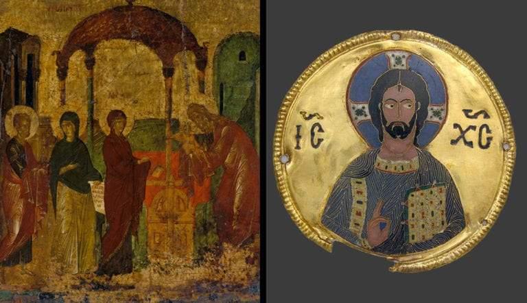 byzantine temple icon