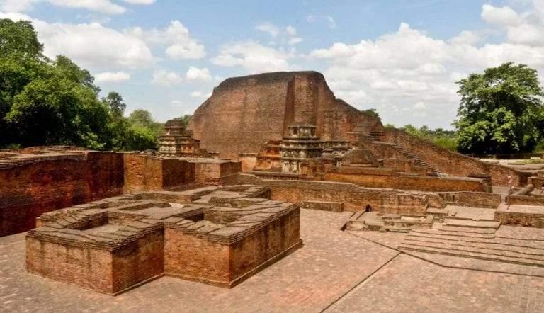 nalanda mahavihara archeological ruins