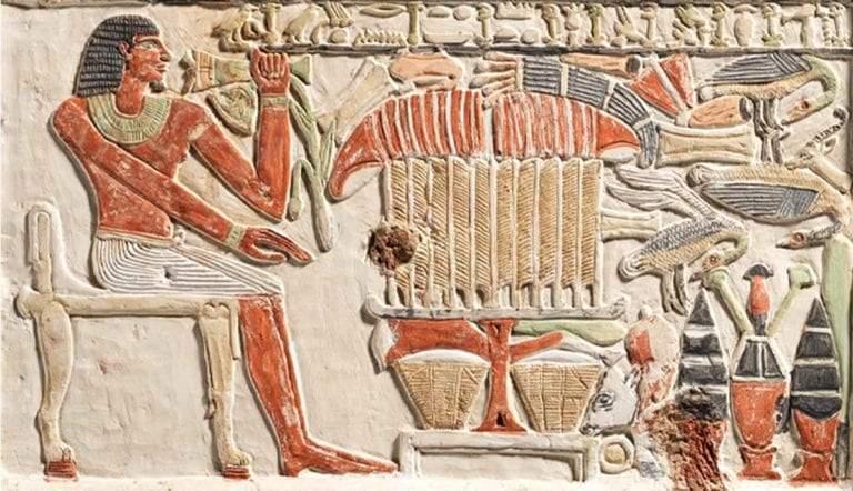 detail false door royal sealer neferiu