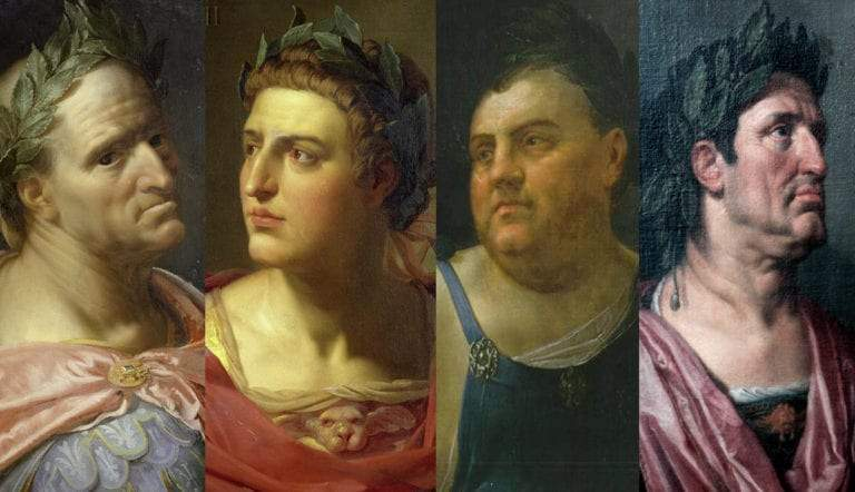 four emperors year roman history