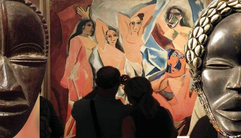 picasso cubism african art