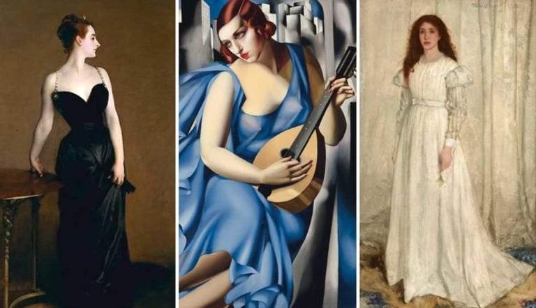 madame x la musicienna symphony in white