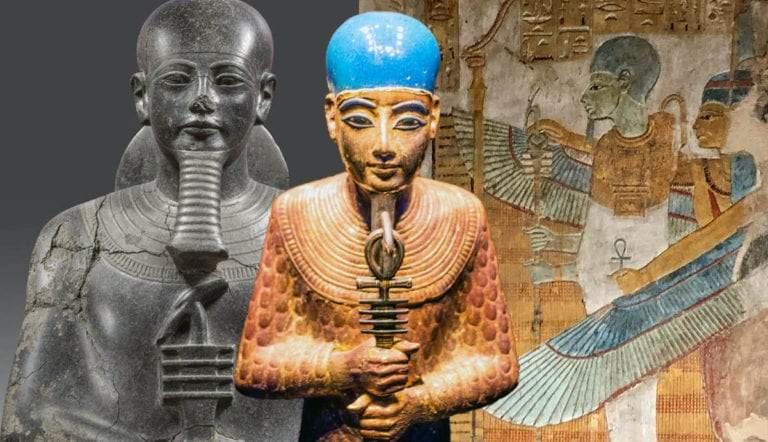 statue of egyptian god ptah