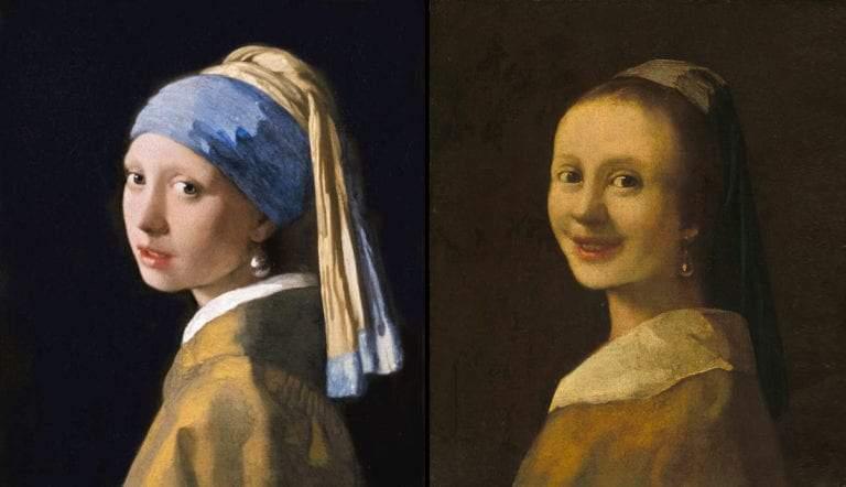vermeer smiling girl forgery