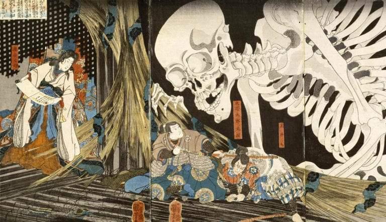 ukiyo-e japanese ghost story