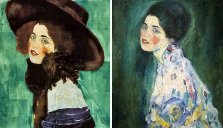 gustav-klimt-portrait-young-lady-ricci-oddi-paintings
