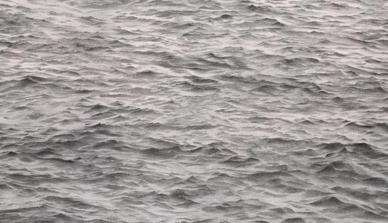 vija celmins photorealism ocean