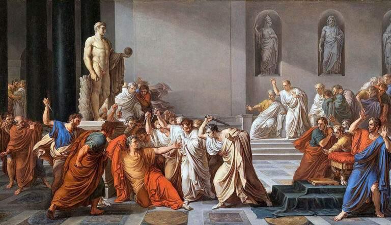 death of julius caesar vincenzo camuccini