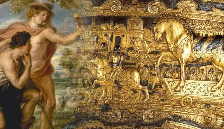 trojan art work painting