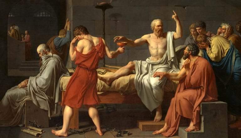 death of socrates plato