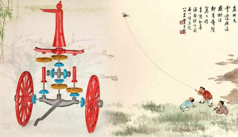 south-pointing-chariot-kite-ancient-chinese-inventions