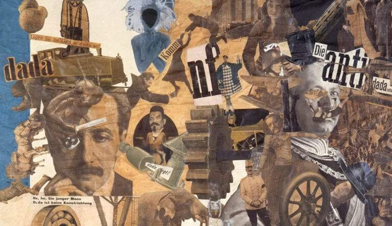 hannah hoch cut with the kitchen knife