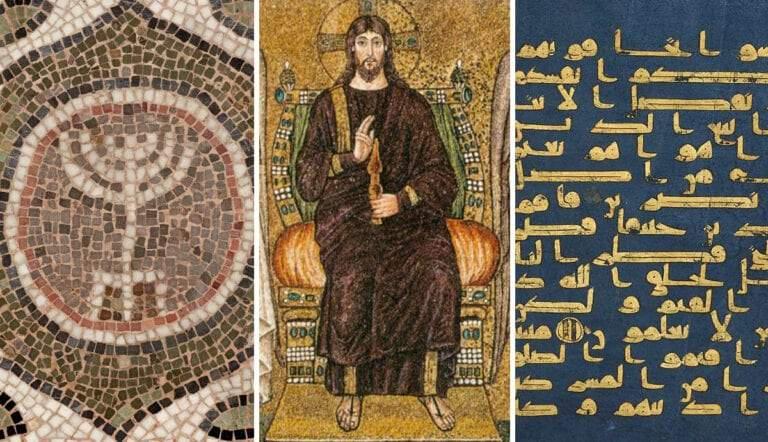 early religious art judaism christianity islam