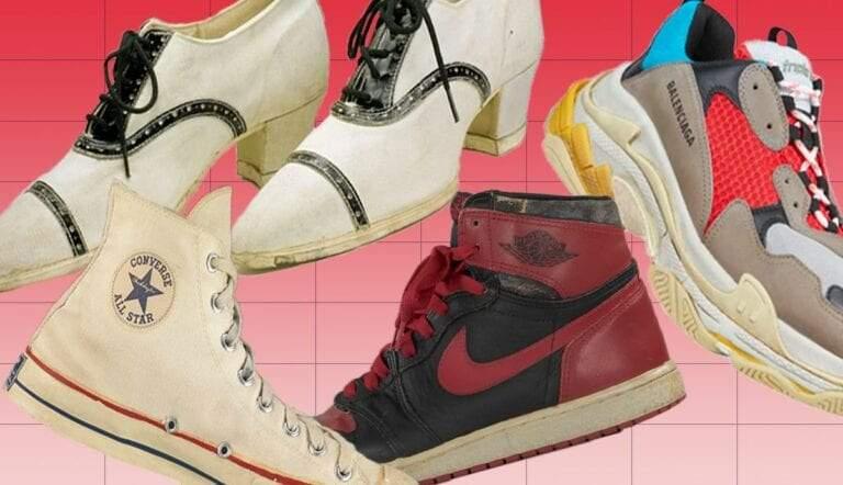 shoe timeline sneakers