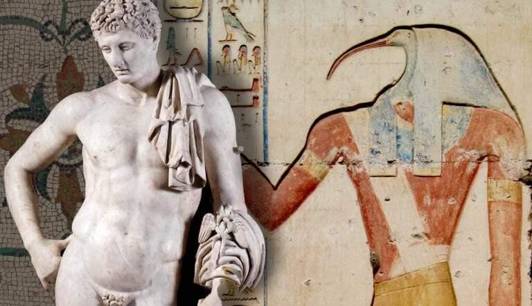thoth hermes gods