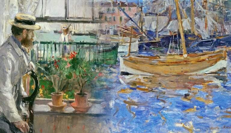 berthe morisot paintings impressionism