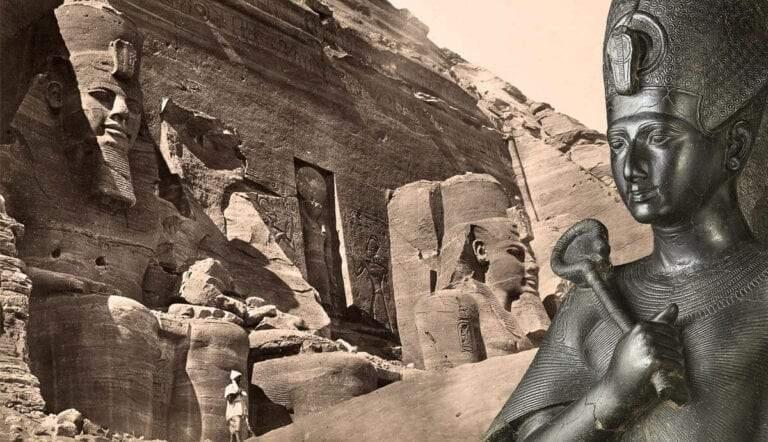 Ramses II and Abu Simbel colossi