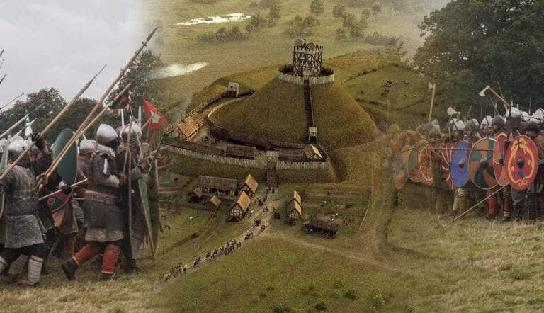 norman castles william the conquerer