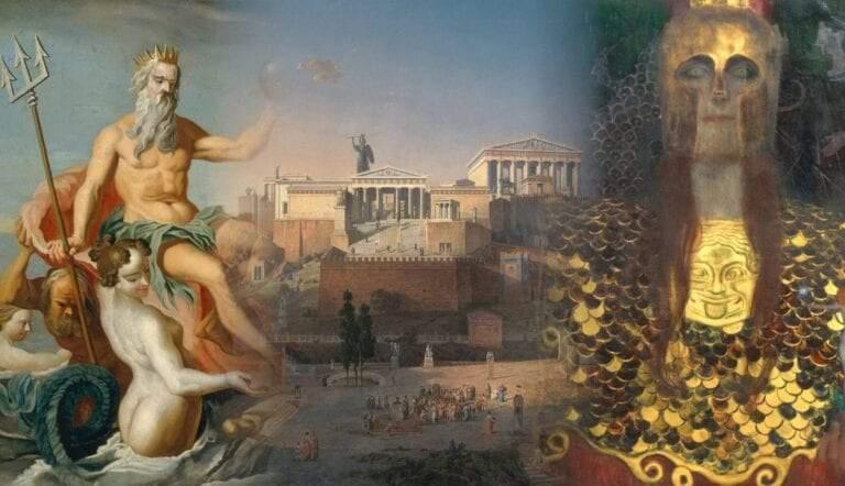 athena-poseidon-contest-athens