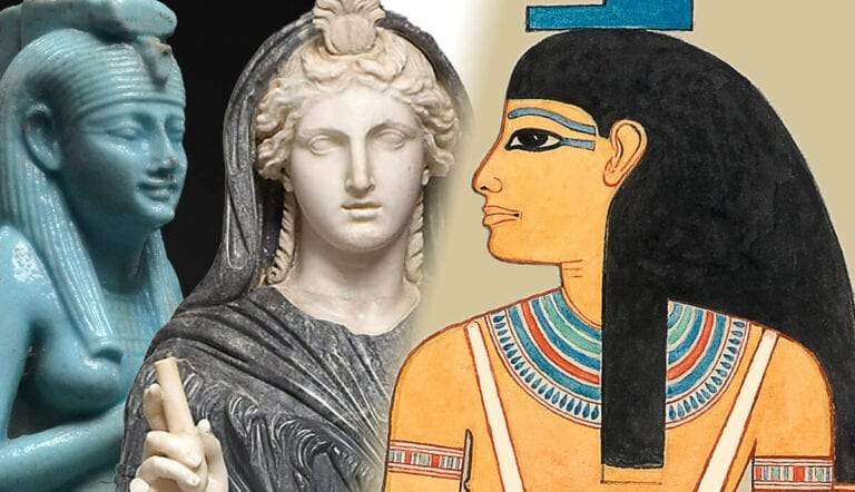 Goddess Isis lactans, Isis Rome, Isis Ramses I relief.