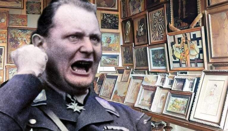 herman goering nazi looter