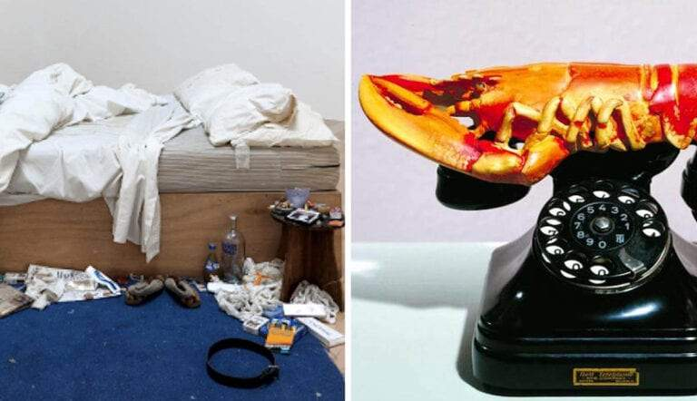 my bed tracey emin lobster telephone