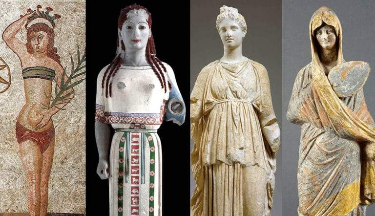 womens fashion ancient greece