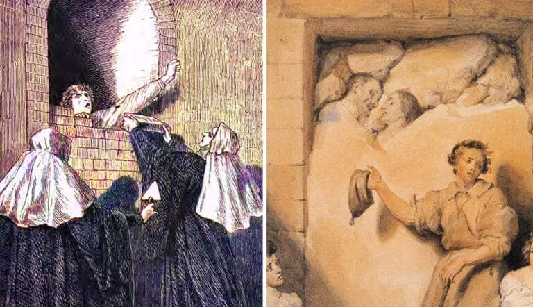 anchorites medieval women walled up alive