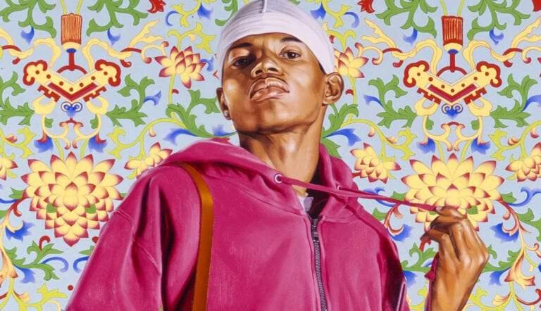 art market kehinde wiley painting black artist