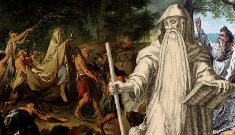 druids roman britain