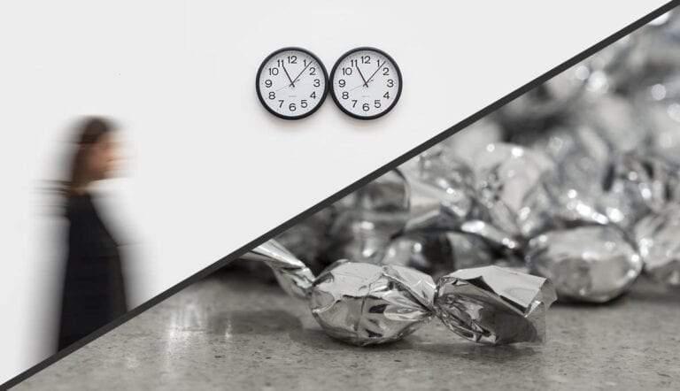 felix gonzalez torres installations lovers clock candy art