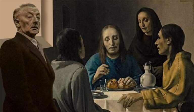 han van meegeren forged art supper emmaus painting